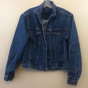 Vintage Calvin Klein Denim trucker jacket made USA
